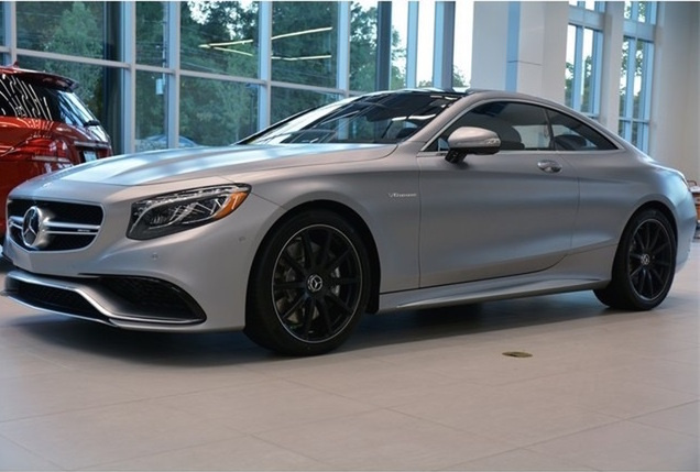 2016 Mercedes-Benz S-Class Coupe, Front-quarter view., exterior, gallery_worthy