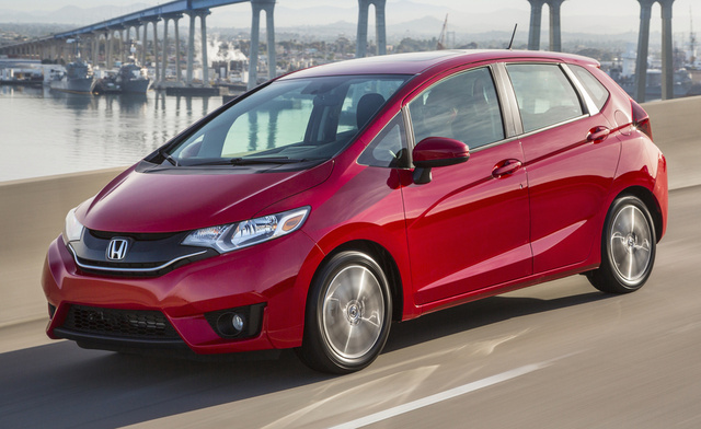 2016 Honda Fit, Front-quarter view, exterior, manufacturer