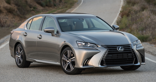 2016 Lexus GS 200t, Front-quarter view., exterior, manufacturer, gallery_worthy