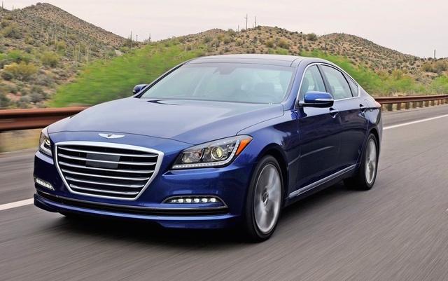 2016 Hyundai Genesis Overview Cargurus