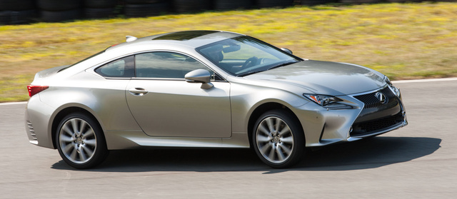 2016 Lexus RC 350, Front-quarter view., exterior, manufacturer, gallery_worthy