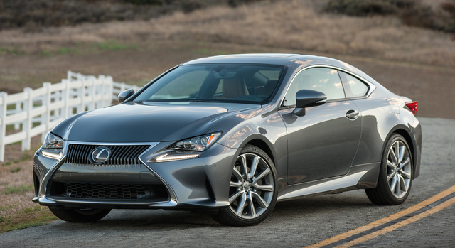 2016 Lexus RC 300, Front-quarter view., exterior, manufacturer, gallery_worthy