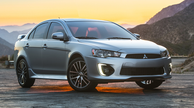 2016 Mitsubishi Lancer, Front-quarter view., exterior, manufacturer, gallery_worthy