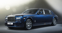 2016 Rolls-Royce Phantom, Front-quarter view., exterior, manufacturer, gallery_worthy