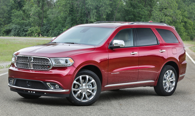 2016 Dodge Durango, Front-quarter view., exterior, manufacturer