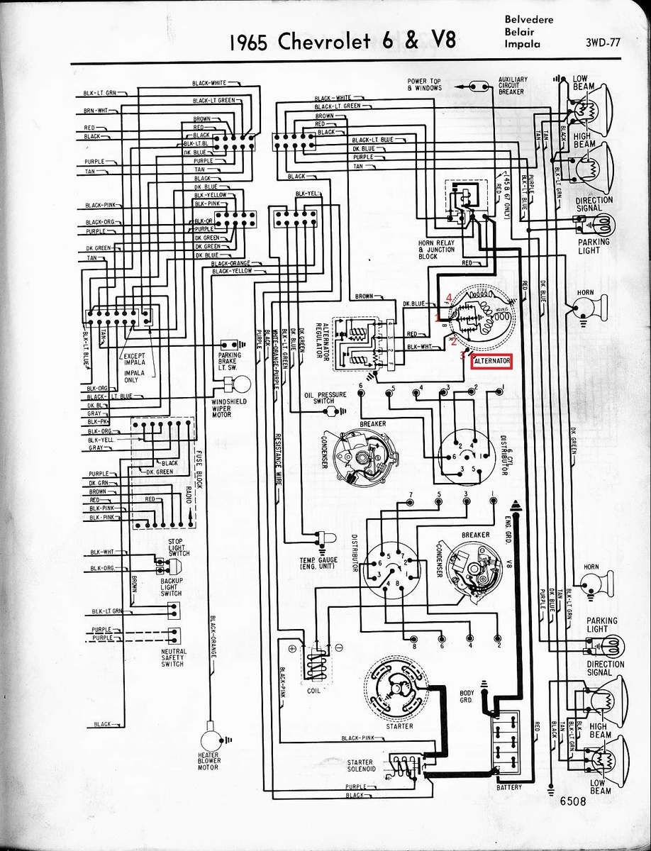 Chevrolet Impala Questions Alternator Hook Up Cargurus 4 Wire Ls Wiring Diagram 1 People Found This Helpful