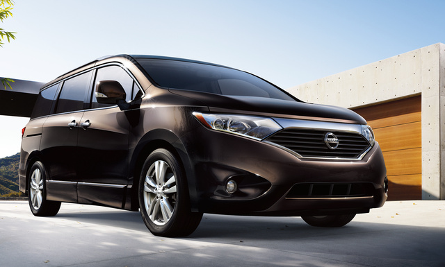2016 Nissan Quest, Front-quarter view., exterior, manufacturer, gallery_worthy