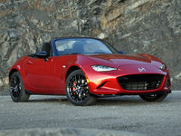 2016 Mazda MX-5 Miata Club Convertible, 2016 Mazda MX-5 Miata Club Soul Red Brembo BBS Package, exterior, gallery_worthy