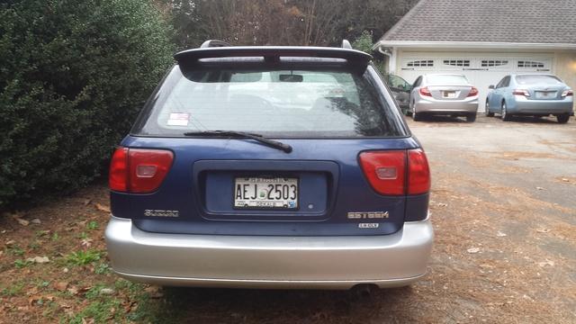 Picture of 2000 Suzuki Esteem 4 Dr GLX Wagon, exterior, gallery_worthy