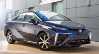 2016 Toyota Mirai, Front-quarter view., exterior, manufacturer, gallery_worthy