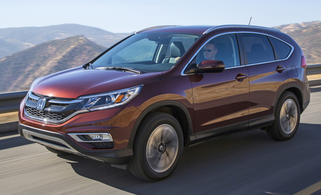 2016 Honda CR-V, Front-quarter view, exterior, manufacturer, gallery_worthy