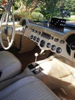 Picture of 1956 Chevrolet Corvette Convertible Roadster, interior