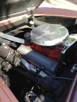 Picture of 1956 Chevrolet Corvette Convertible Roadster, engine