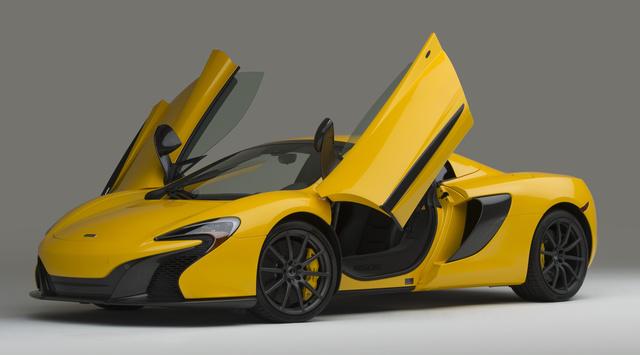 2016 McLaren 650S, Front-quarter view., exterior, manufacturer, gallery_worthy