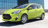 2016 Toyota Prius c, Front-quarter view., exterior, manufacturer, gallery_worthy