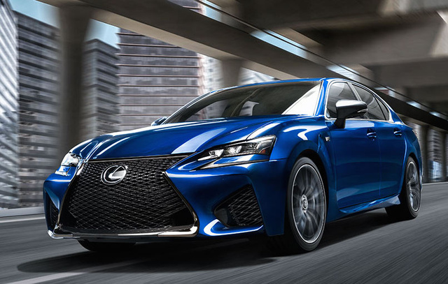2016 Lexus GS F, Front-quarter view., exterior, manufacturer, gallery_worthy