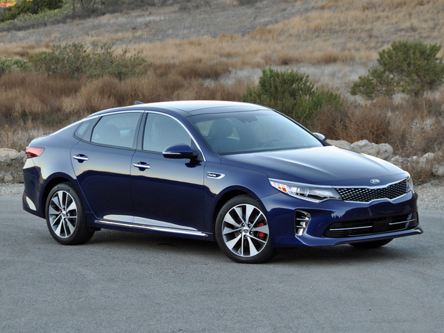 2016 Kia Optima SXL Turbo, 2016 Kia Optima SX Limited in Horizon Blue, exterior