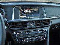 2016 Kia Optima SXL Turbo, 2016 Kia Optima SX Limited navigation map display, interior