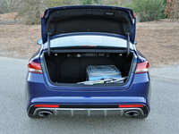 2016 Kia Optima SXL Turbo, 2016 Kia Optima SX Limited trunk and cargo space, interior