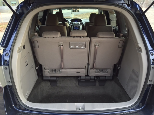 2016 honda odyssey interior pictures cargurus. Black Bedroom Furniture Sets. Home Design Ideas