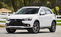 2016 Mitsubishi Outlander Sport, Front-quarter view., exterior, manufacturer, gallery_worthy