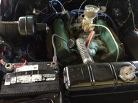 Picture of 1955 Ford Fairlane, engine