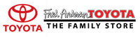 Fred Anderson Toyota logo