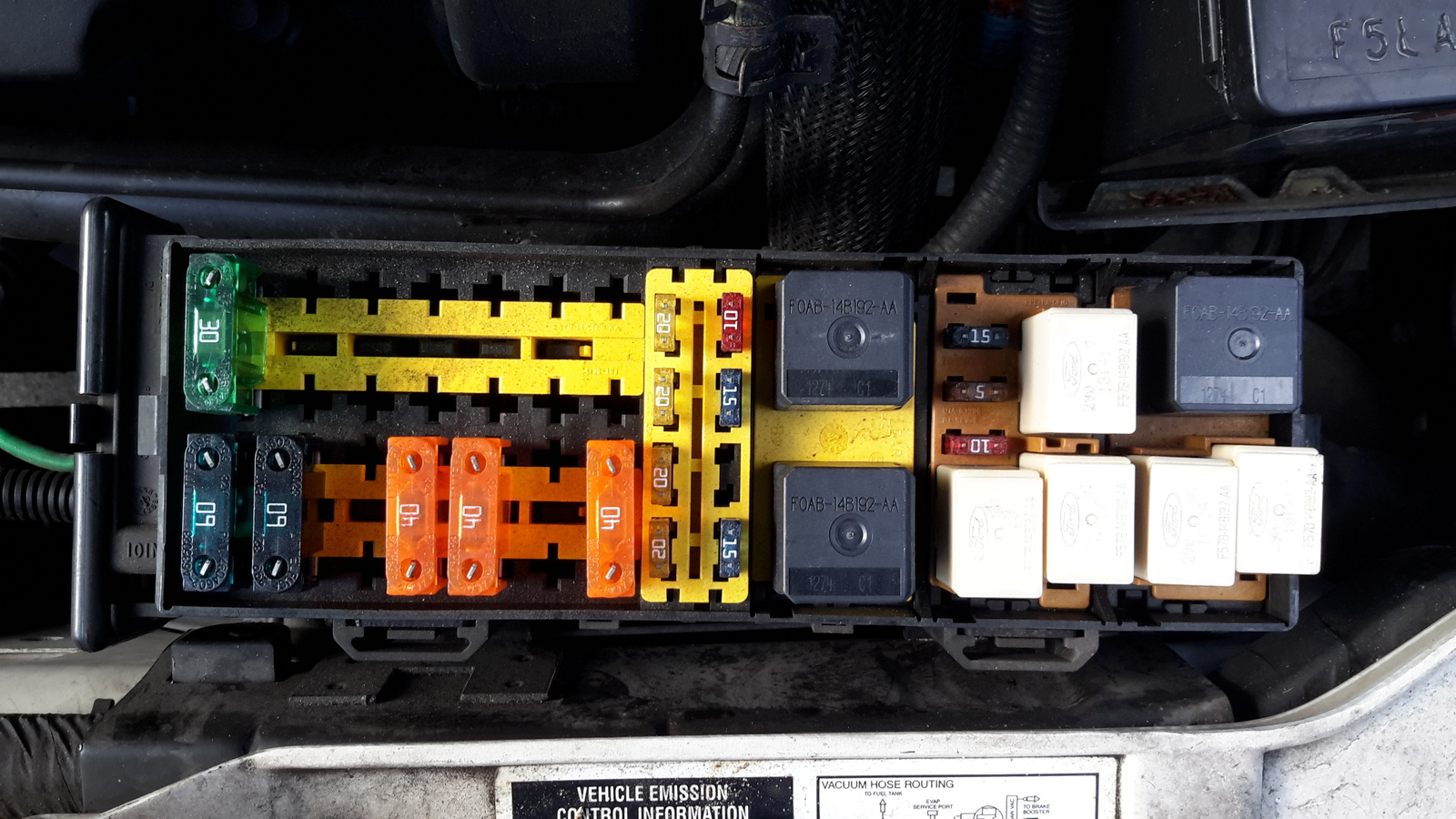 Home Glass Fuse Box Mercury Sable Questions Where Is The Relay For Power Windows 2 People Found This Helpful