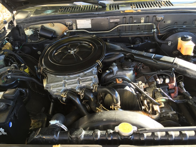 Picture of 1987 Mazda B2000, engine