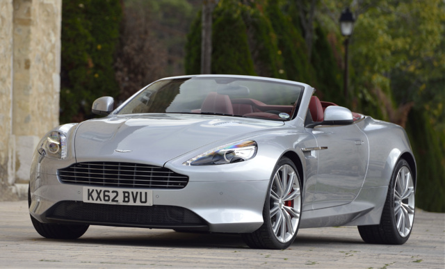 2016 Aston Martin DB9, Front-quarter view., exterior, manufacturer, gallery_worthy