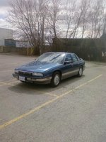 1991 Buick Regal 4 Dr Limited Sedan, 1991 Buick Regal GS, exterior
