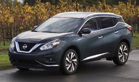 2016 Nissan Murano, Front-quarter view, exterior, manufacturer