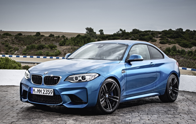 2016 BMW M2, Front-quarter view., gallery_worthy