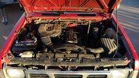 Picture of 1992 Nissan Pickup 2 Dr STD Standard Cab SB, engine