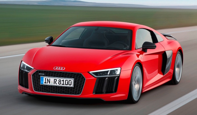 2017 Audi R8, Front-quarter view., exterior, manufacturer, gallery_worthy