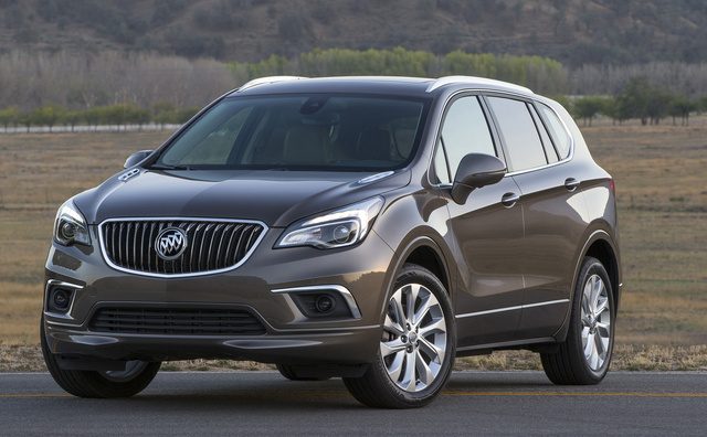 2016 Buick Envision, Front-quarter view. Copyright General Motors., exterior, manufacturer, gallery_worthy