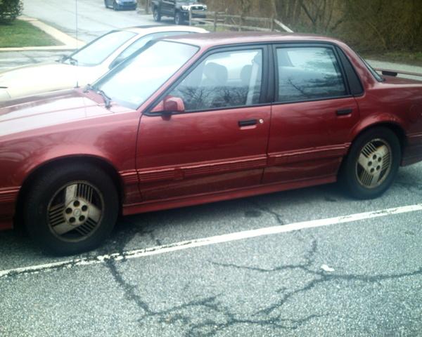Picture of 1990 Pontiac 6000 4 Dr LE Sedan