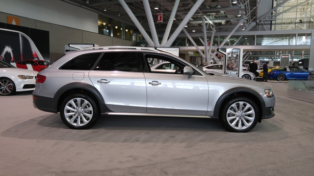 2016 Audi A4 Allroad, Audi Allroad Side, exterior, gallery_worthy