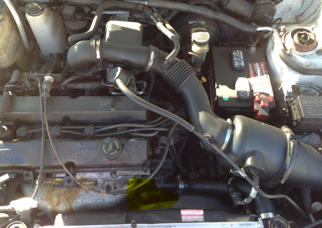 Ford Escort Questions How Do I Replace The Pcv Hose And
