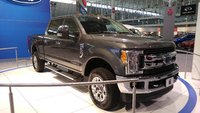 2017 Ford F-250 Super Duty, 2017 F-250 Front Quarter, exterior