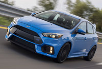 2016 Ford Focus RS, Front-quarter view, exterior, manufacturer
