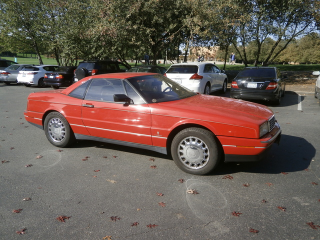 Picture of 1992 Cadillac Allante Base Convertible