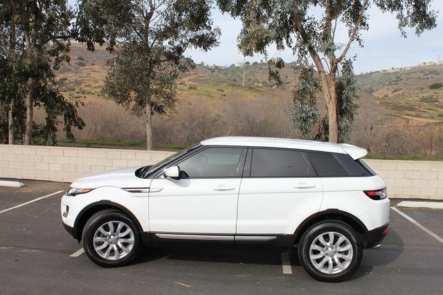 2015 Land Rover Range Rover Evoque Pure Interior
