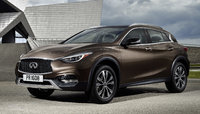 2017 INFINITI QX30, Front-quarter view., gallery_worthy