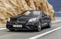 2017 Mercedes-Benz SLC-Class, Front-quarter view., exterior, manufacturer