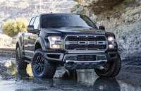 2017 Ford F-150, Front-quarter view., exterior, manufacturer, gallery_worthy