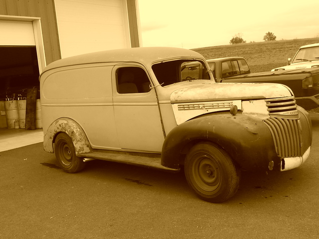 Picture of 1937 Chevrolet Panel Truck Base, exterior, gallery_worthy