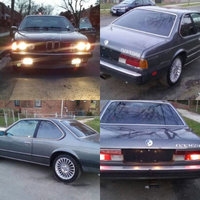 1984 BMW 6 Series Overview