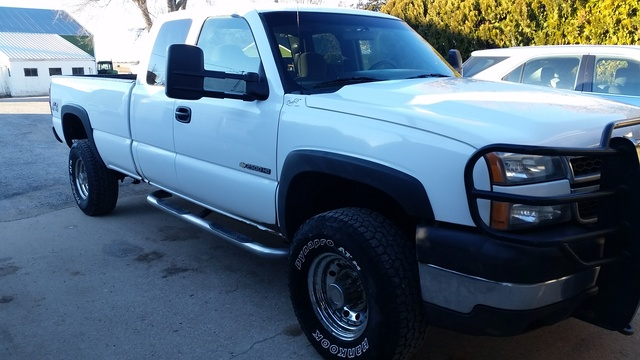 Picture of 2007 Chevrolet Silverado Classic 2500HD Work Truck Extended Cab 4WD, exterior