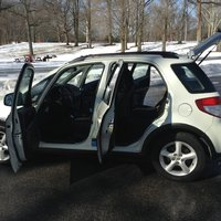 Picture of 2007 Suzuki SX4 Base AWD, interior